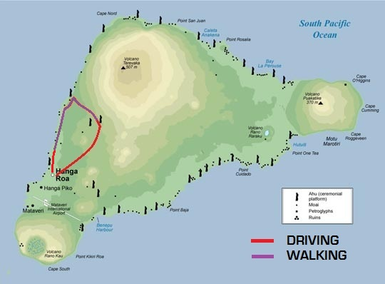 Tour H Easter Island S Ancient Caves Easter Island Spirit